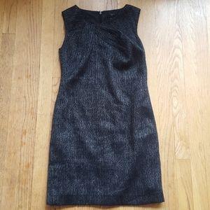 Ann Taylor tweed style herringbone dress 2P